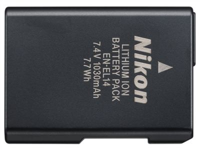 Nikon EN-EL14 Rechargeable Li-ion Camera Battery