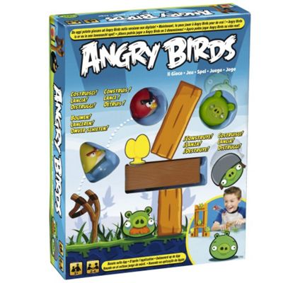 Angry Birds Knock on Wood Board Game