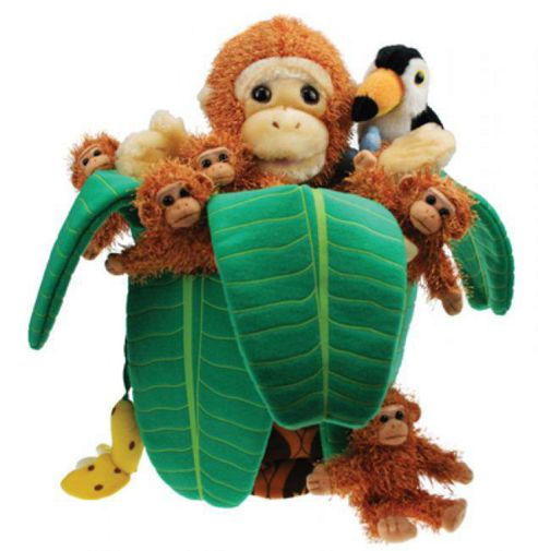 The Puppet Company Monkey in a Tree Puppet