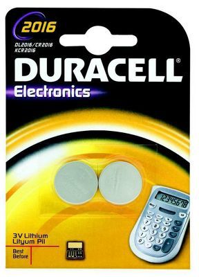 Duracell 2 Pack Lithium Batteries