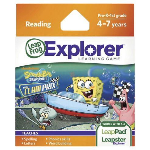 Leapfrog Leapsterleappad Explorer Spongebob Kart Racing Game
