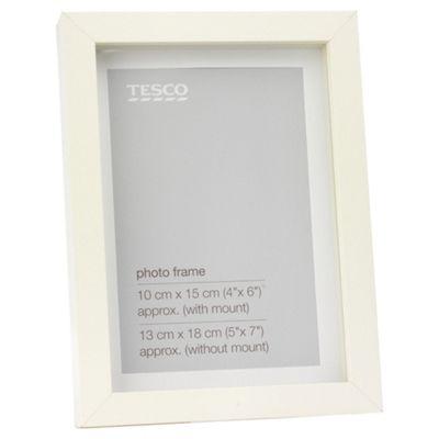 Tesco Cream Frame 5x7