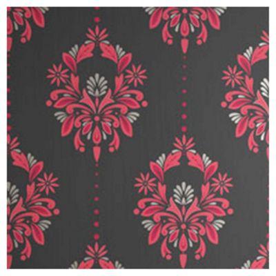 Dulux Antoinette Wallpaper, Fuschia