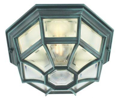 Norlys Latina Outdoor Wall Lantern - Verdigris