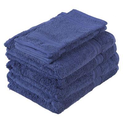 Tesco Towel Bale Navy