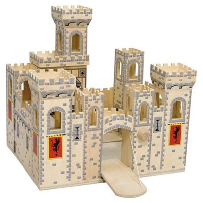 Melissa & Doug Folding Medieval Castle