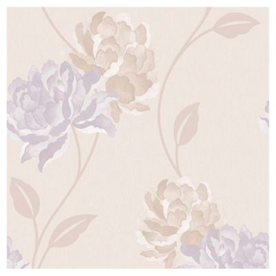 Dulux Peony Wallpaper, Pearl