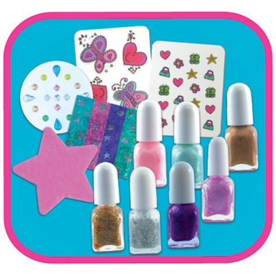 Buy nail art activity pack from our art supplies range tesco nail art activity pack prinsesfo Choice Image