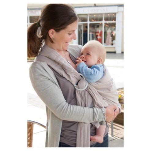 Baby Sense Baby Sling, Gingham Stone
