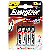 Energizer Ultra 8 Pack AAA Batteries