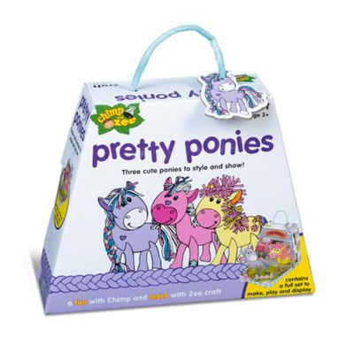 Chimp and Zee Pretty Ponies Craft Activity Set