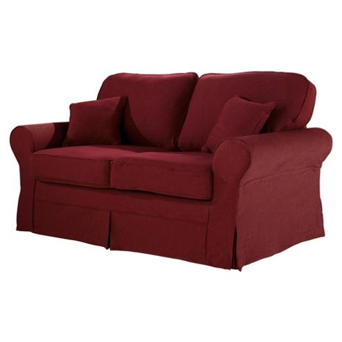 Louisa Loose Cover Only for Sofa Bed Jaquard, Wine