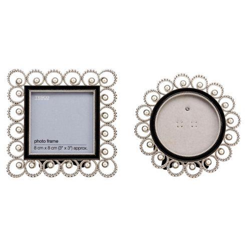 Tesco vintage pearl set 2 frames 3x3