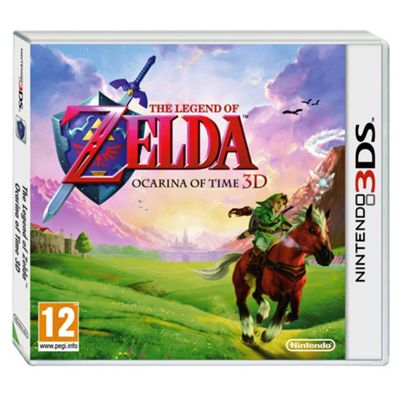 Legend Of Zelda Ocarina 3D