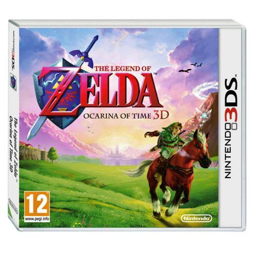 Legend Of Zelda Ocarina 3D