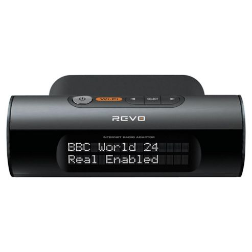Revo Mondo Wifi With Adaptor - Black