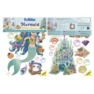 FunToSee Mermaid Wall Stickers