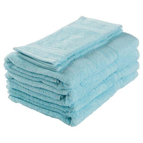 Tesco Towel Bale Aqua
