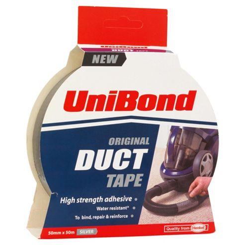 Unibond Duct Tape Silver 50mm X 50m
