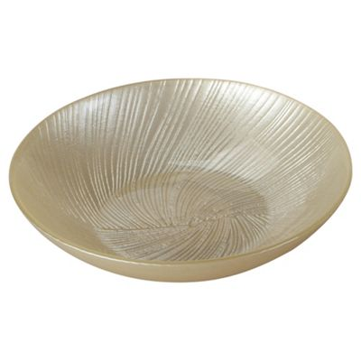 Tesco glass pot pourri bowl, cream