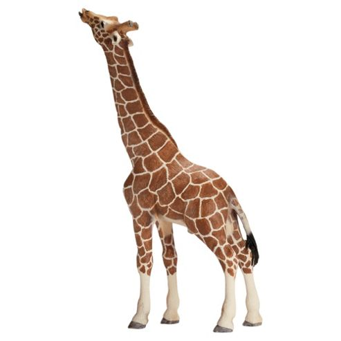 Schleich Giraffe, Male, Eating
