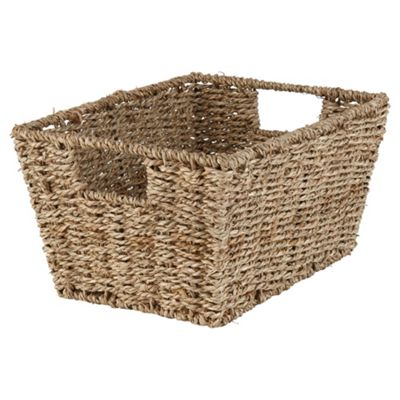 Tesco Seagrass Shelf Basket