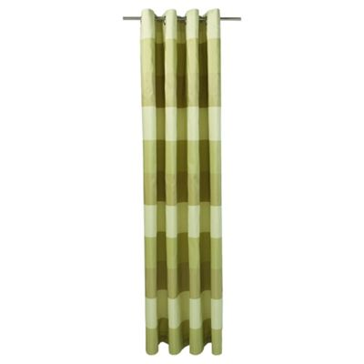 Stripe Taffetta Eyelet Curtains W163xL183cm (64x72