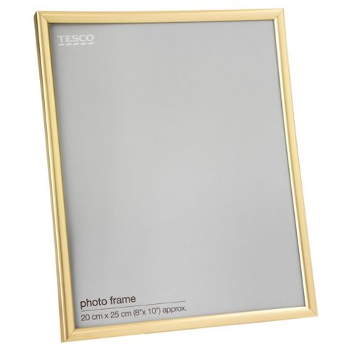 Tesco Basic Gold Frame 8
