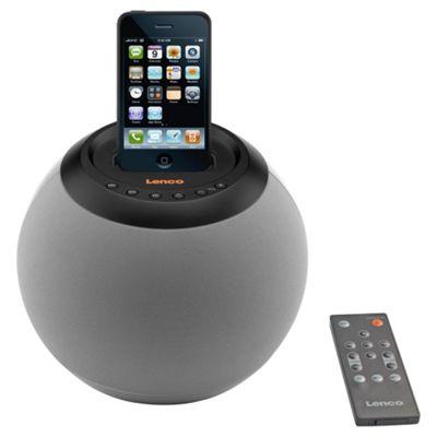Lenco IPD4200 iPod Speakerball - Grey