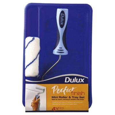 Dulux Perfect Finish Mini Roller and Tray Set