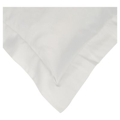 Finest Pima Cotton Oxford Pillowcase White