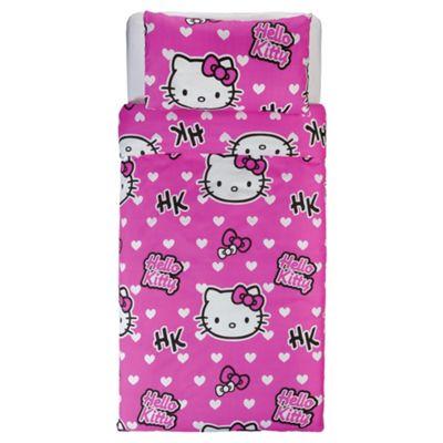 Hello Kitty Duvet Set Single.