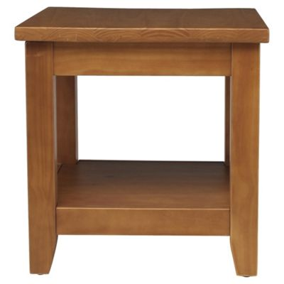 Suffolk Side Table, Solid Pine