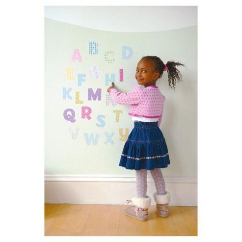 FunToSee Nursery Alphabet Wall Stickers - Uppercase