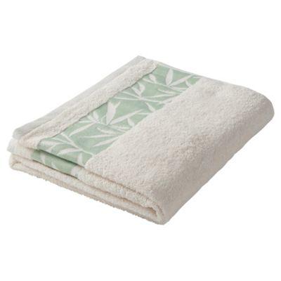 F&F Home Leaf Hand Towel