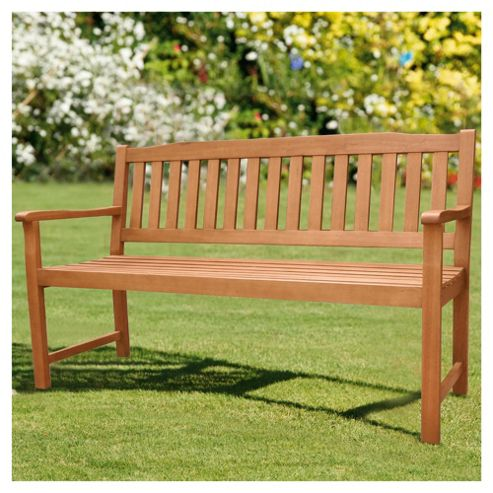 Salcombe Wooden Bench 3 Seater