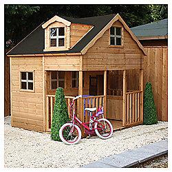 Mercia 7x7 Double Storey Playhouse with Dorma Window