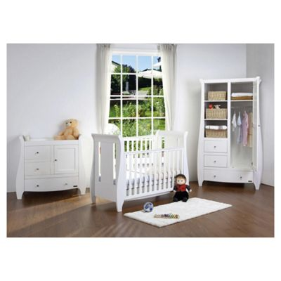 Tutti Bambini Katie, 3 piece Nursery Furniture Set