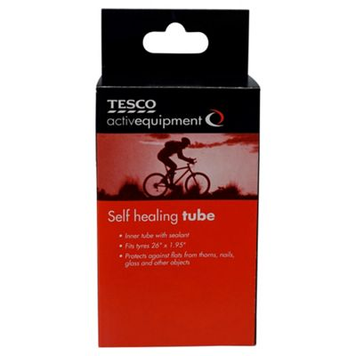 Activequipment Bike Self Healing Bike Inner Tube with Schrader Valve, 26