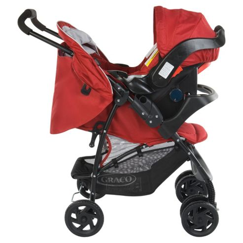 Graco Mirage Pushchair Travel System, Chilli Red