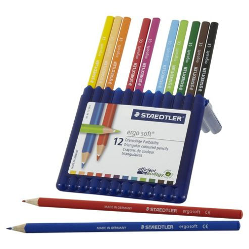 Staedtler Ergosoft Colouring Pencils 12 Pack
