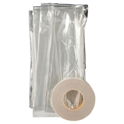 Secondary Glazing Film Window Draught Excluder Clear
