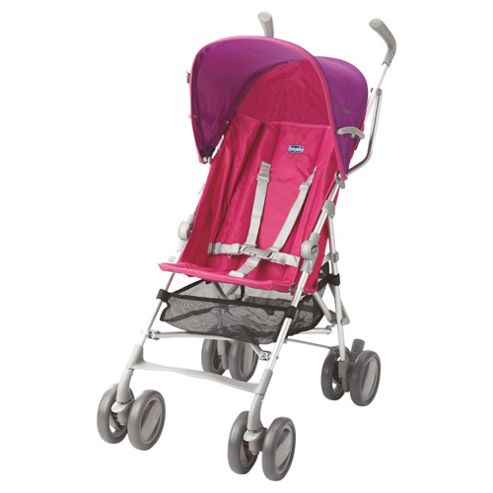 Chicco Snappy Pushchair, Fushcia Wave