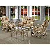 Desser Morley 3 Piece Conservatory Furniture Set and Coffee Table
