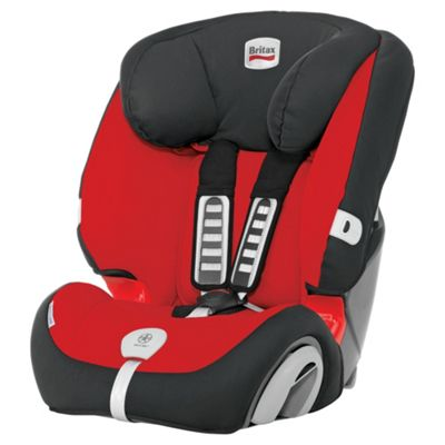 Britax Evolva Plus, Group 1-2-3 Car Seat, Lisa Red