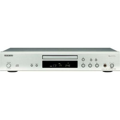 Onkyo DX-7355S CD Player Sublime Sound Quality and Ultimate Fidelity for CD/Mp3 Sources - Silver