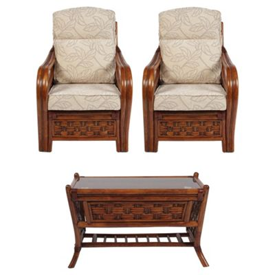 Desser Santiago 3-piece Conservatory Furniture Set with Coffee Table