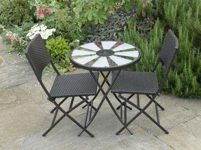 aruba solar table bistro set