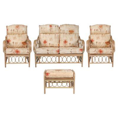 Desser Morley 4-piece Conservatory Furniture Set with Footstool