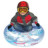 Snow Boogie Snow Globe Air Tube Inflatable Sledge